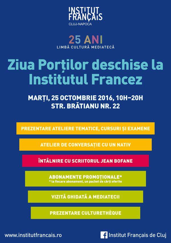 Ziua porților deschise @ Institutul Francez