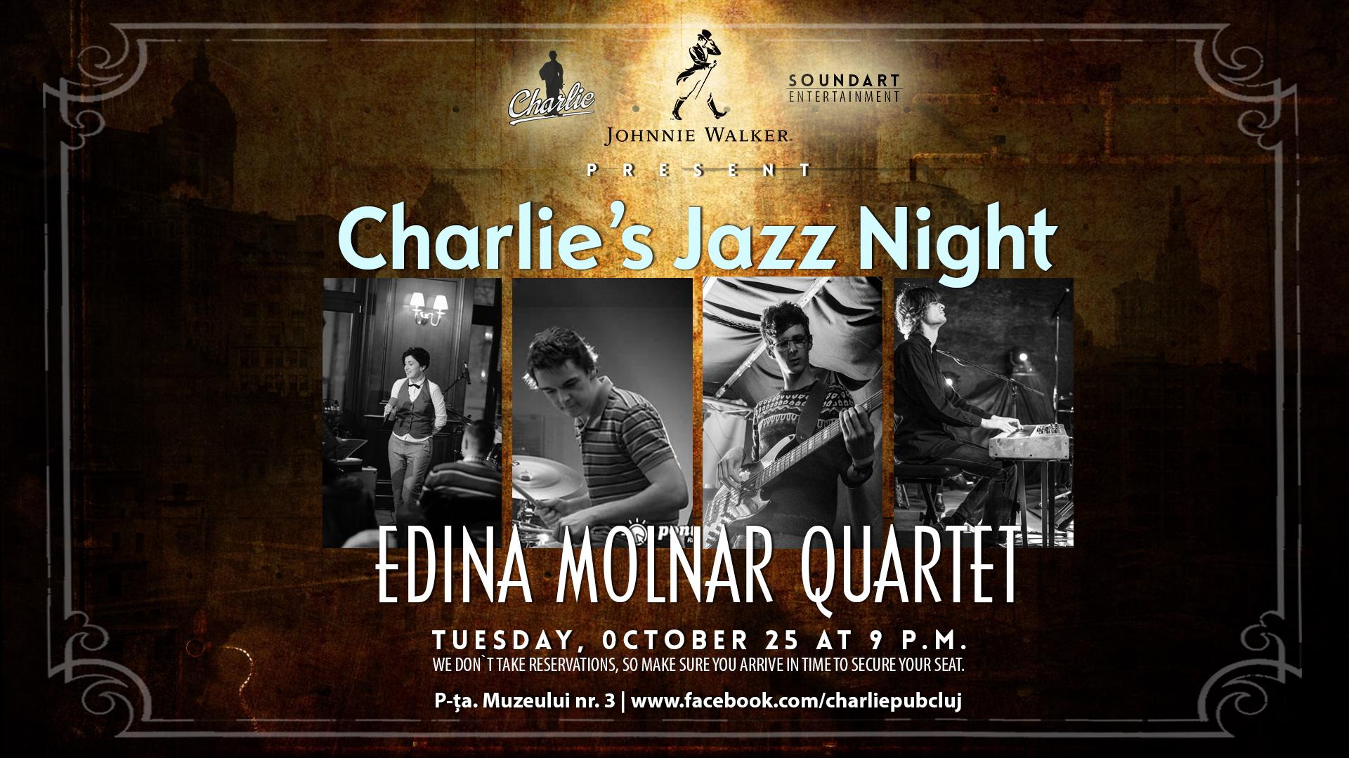 Edina Molnar Quartet @ Charlie