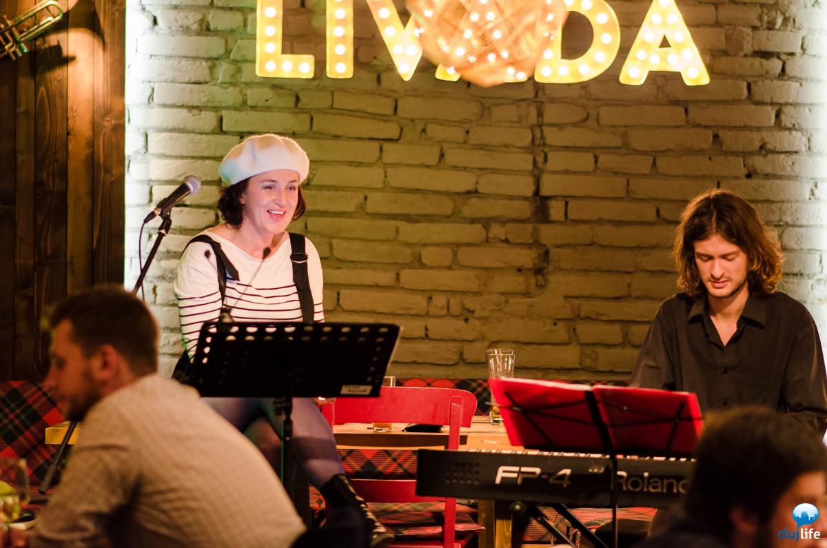 Poze: Edina Molnar Trio @ Restaurant Livada