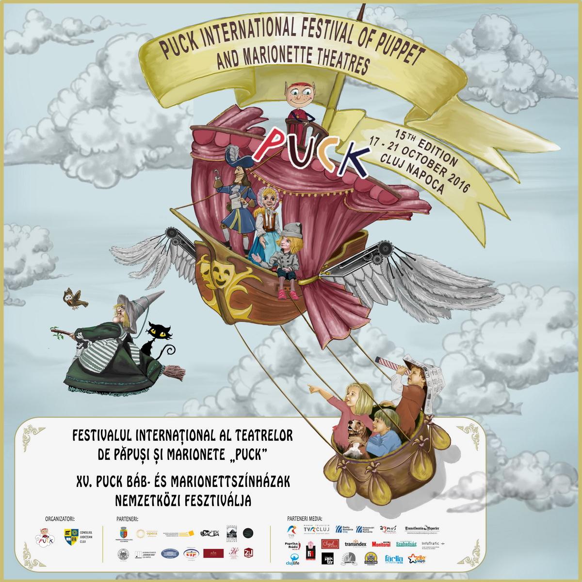 """Festivalul Internațional al Teatrelor de Păpuși și Marionete """"Puck"""" 2016"""