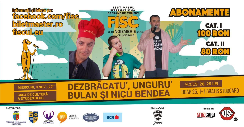 Stand-up Comedy cu Dezbracatu, Unguru Bulan si Nicu Bendea