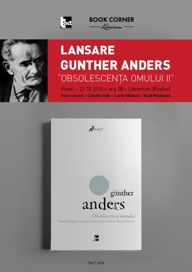 Günther Anders – Obsolescența omului II