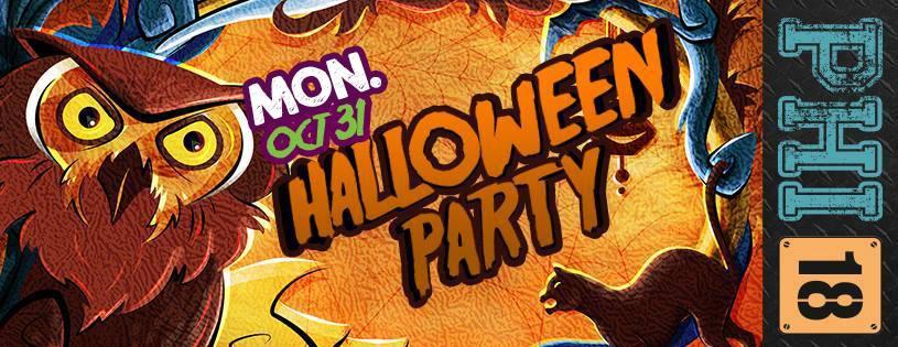 Haloween Party @ Club PHI 18