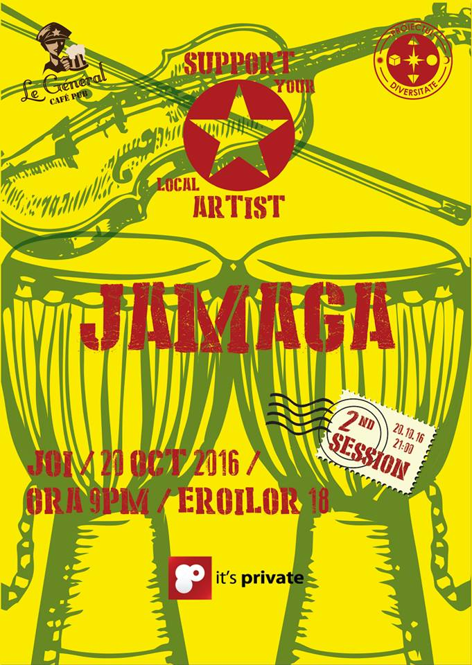 Support Your Local Artist // Jamaga @ Le General