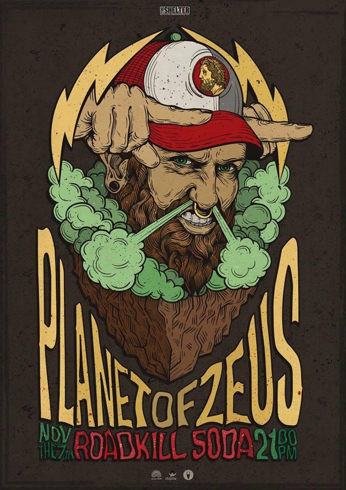 Planet Of Zeus / RoadkillSoda @ The Shelter