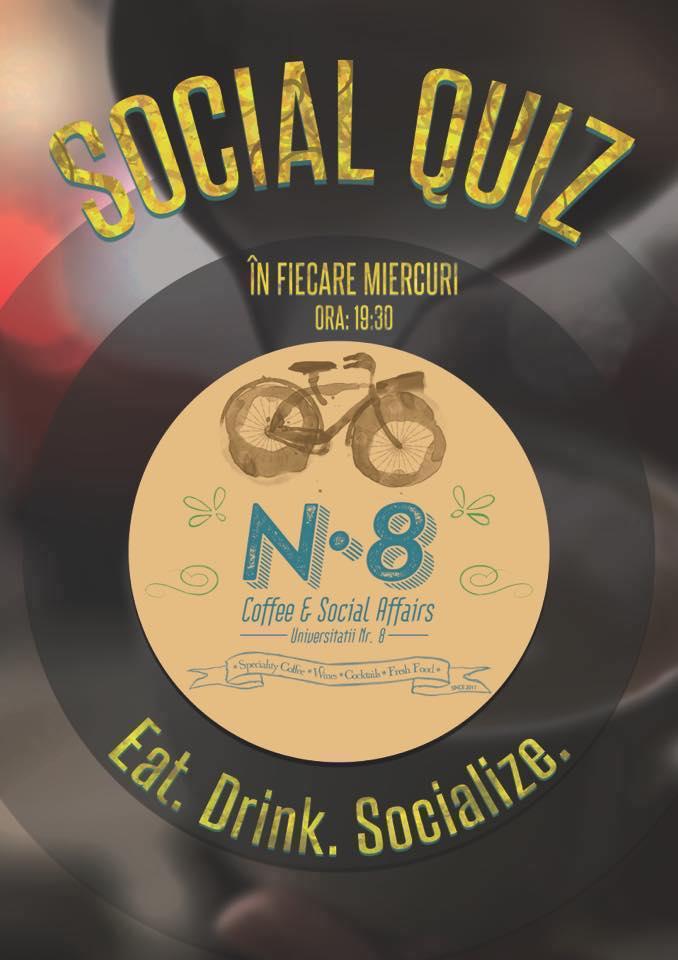 Social Quiz @ N8 Coffee & Social Affairs
