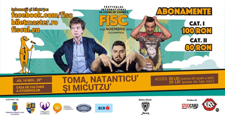 Stand-up Comedy cu Toma, Natanticu' si Micutzu'