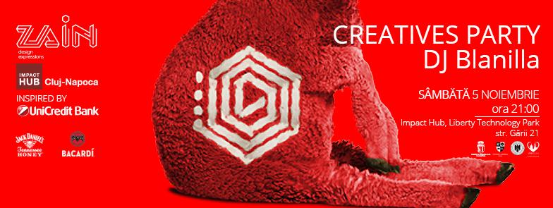 ZAIN – Creatives Party @ Impact HUB