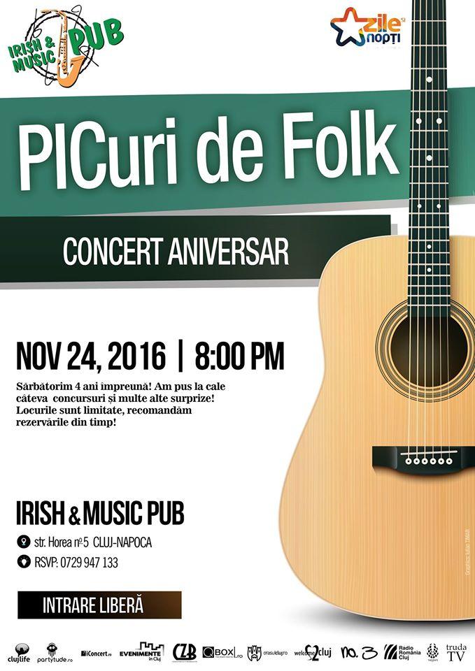 4 ani de PICuri de Folk @ Irish MusicPub