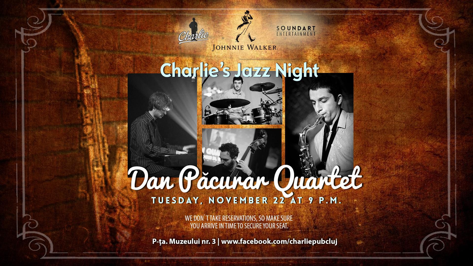 Dan Pacurar Quartet @ Charlie