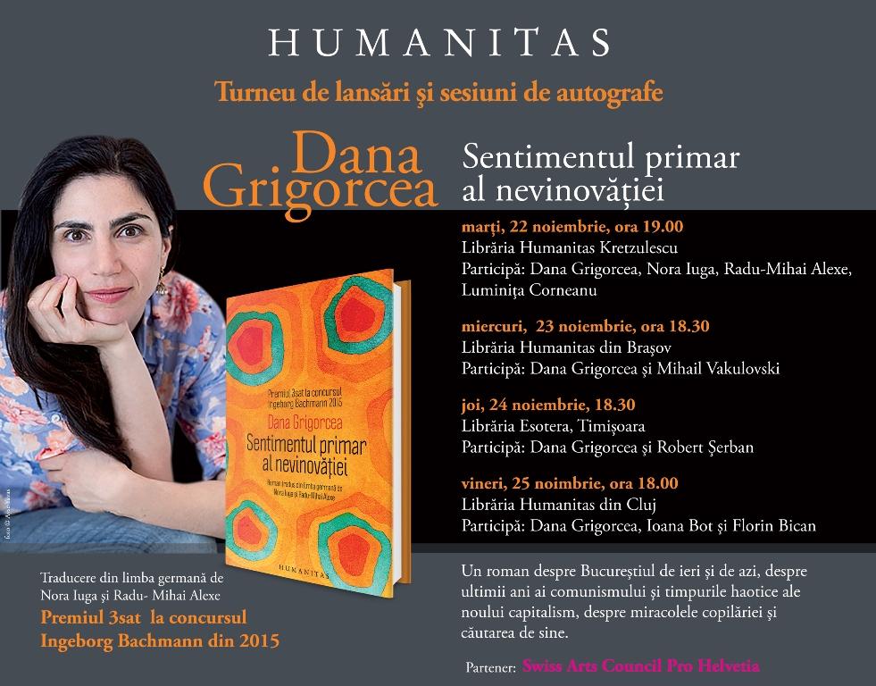 Sentimentul primar al nevinovatiei @ Humanitas