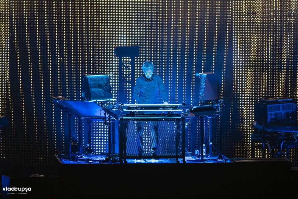 Poze: Jean-Michel Jarre – Electronica World Tour @ Sala Polivalentă