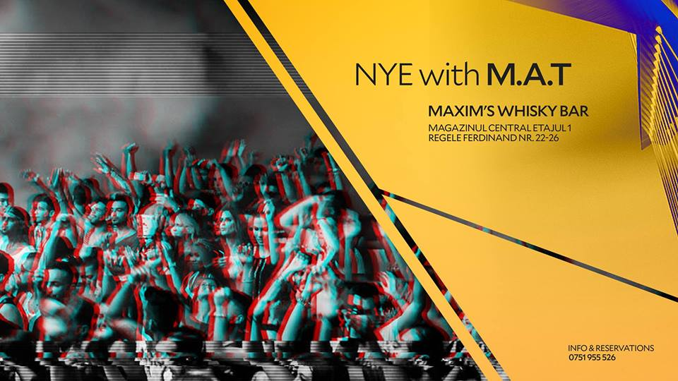 NYE with M.A.T @ Maxim's Whisky Cafe Bar