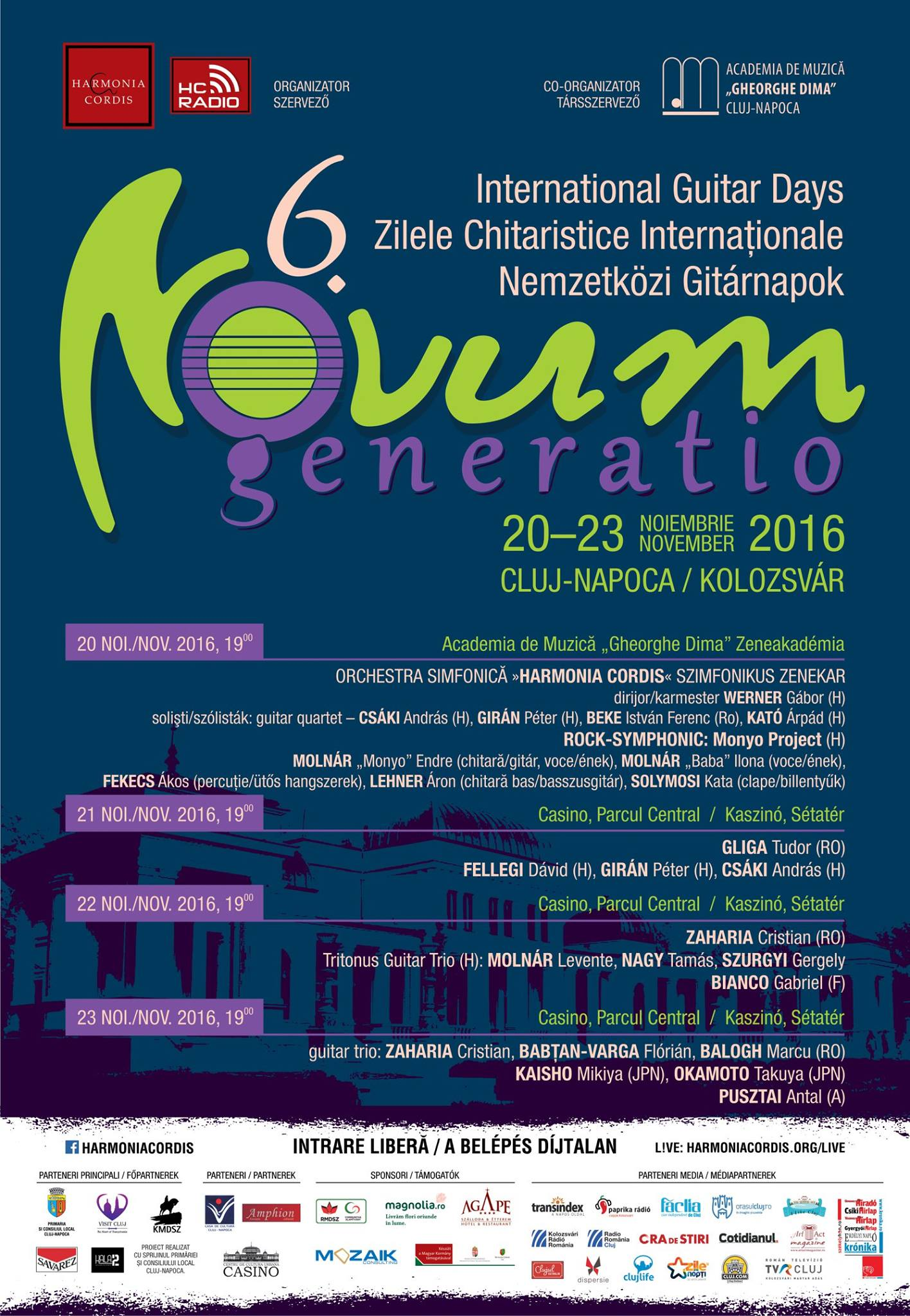 Novum Generatio – Zilele Chitaristice Internationale