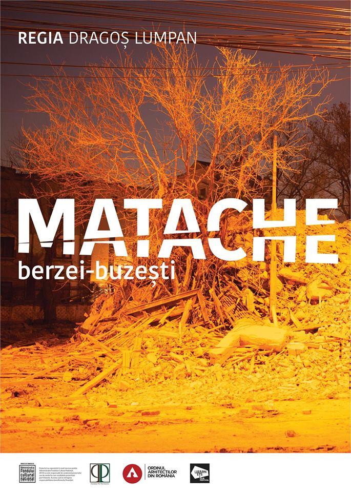 Proiecție Matache. Berzei-Buzești @ Fabrica de Pensule