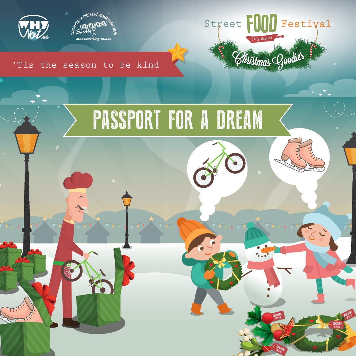 'Tis the Season to be Kind – Passport for a Dream – Street Food Festival Christmas Goodies
