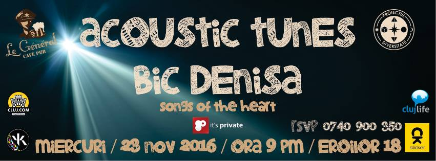 Acoustic Tunes: Bîc Denisa @ Le general