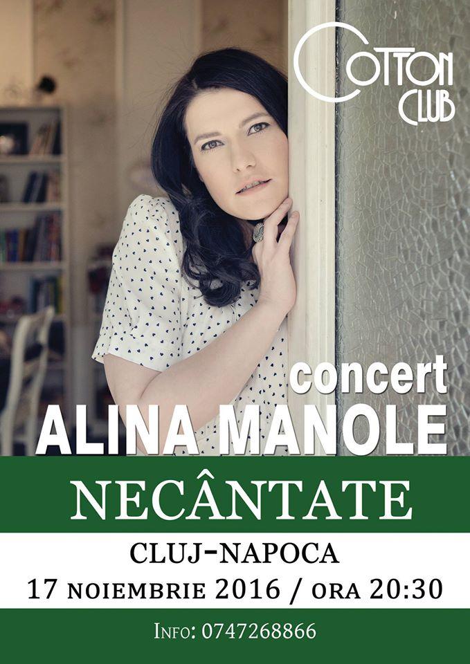 Alina Manole – Necantate @ Cotton Club