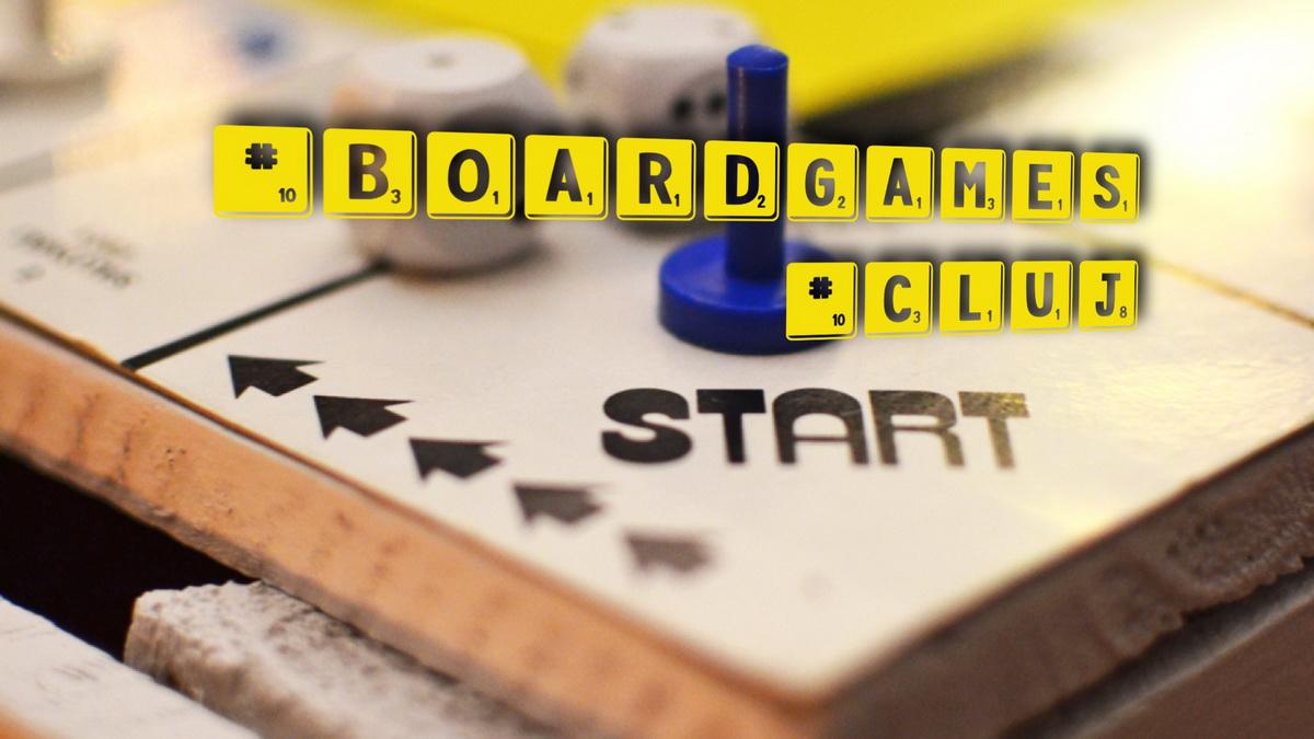 Unde jucăm board games în Cluj-Napoca