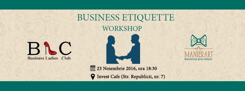 Workshop – Business Etiquette @ Invest Cafe