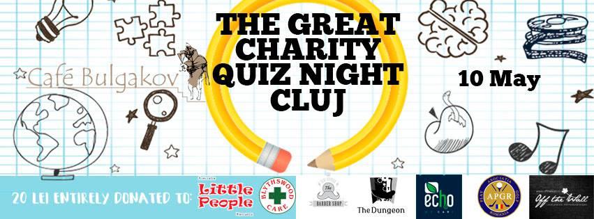 The Great Charity Quiz Night @ Bulgakov Café