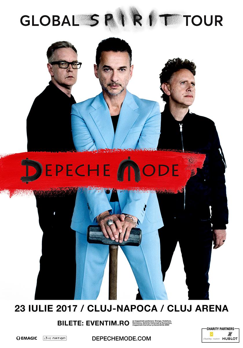 Biletele Golden Circle pentru concertul Depeche Mode sunt SOLD OUT
