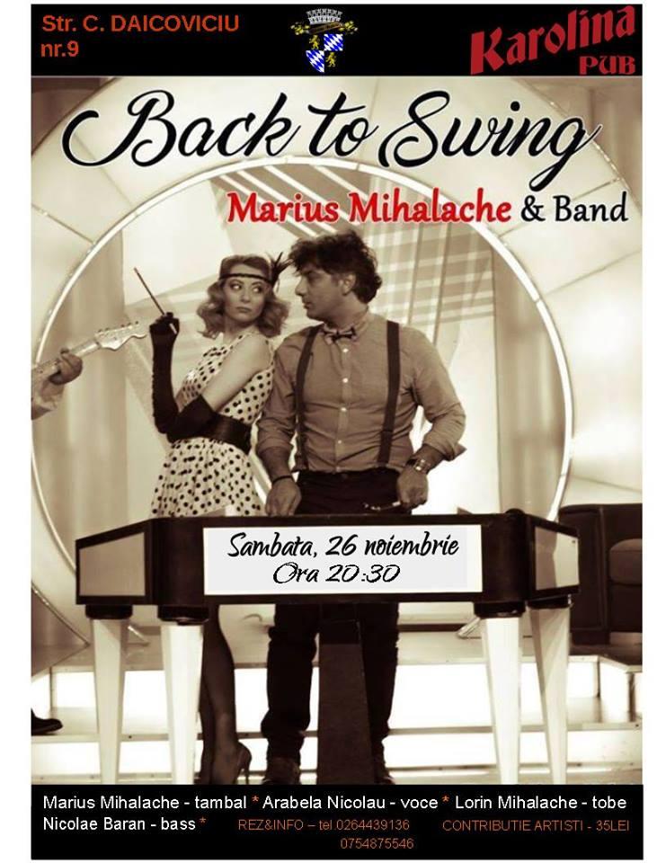 Concert Marius Mihalache @ Karolina Pub