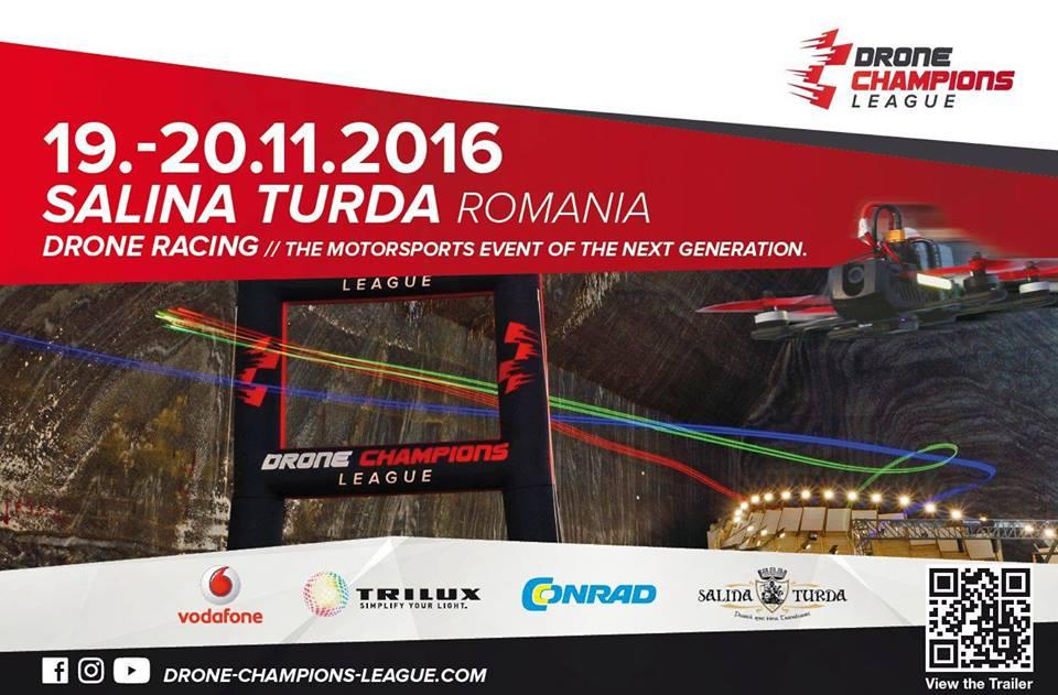 Drone Champions League @ Salina Turda