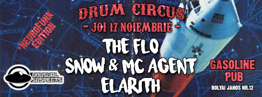 Drum Circus @ Gasoline Pub