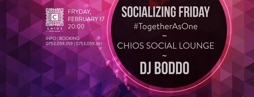 Socializing Friday @ Chios Social Lounge