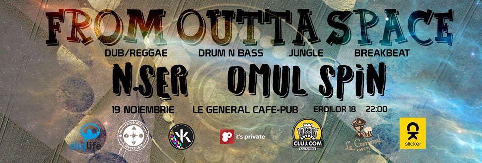 From Outta Space #2 @ Le Général Café-Pub