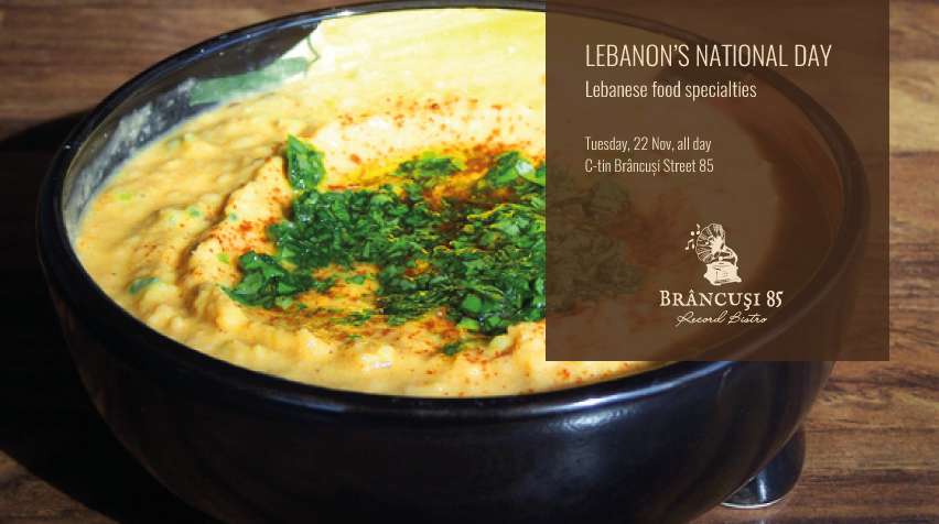 Lebanon's National Day @ Record Bistro