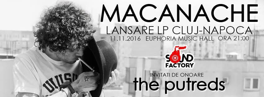 Macanache & The Putreds @ Euphoria Music Hall