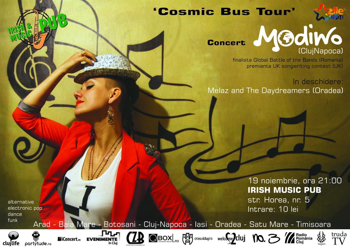 Modiwo + Melaz & The Daydreamers @ Irish & Music Pub