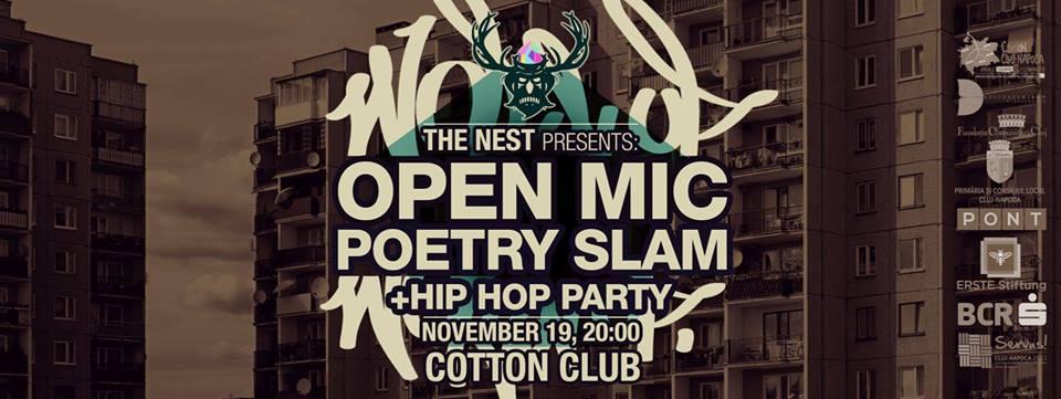 OPEN MIC – Poetry Slam @ Cotton Club
