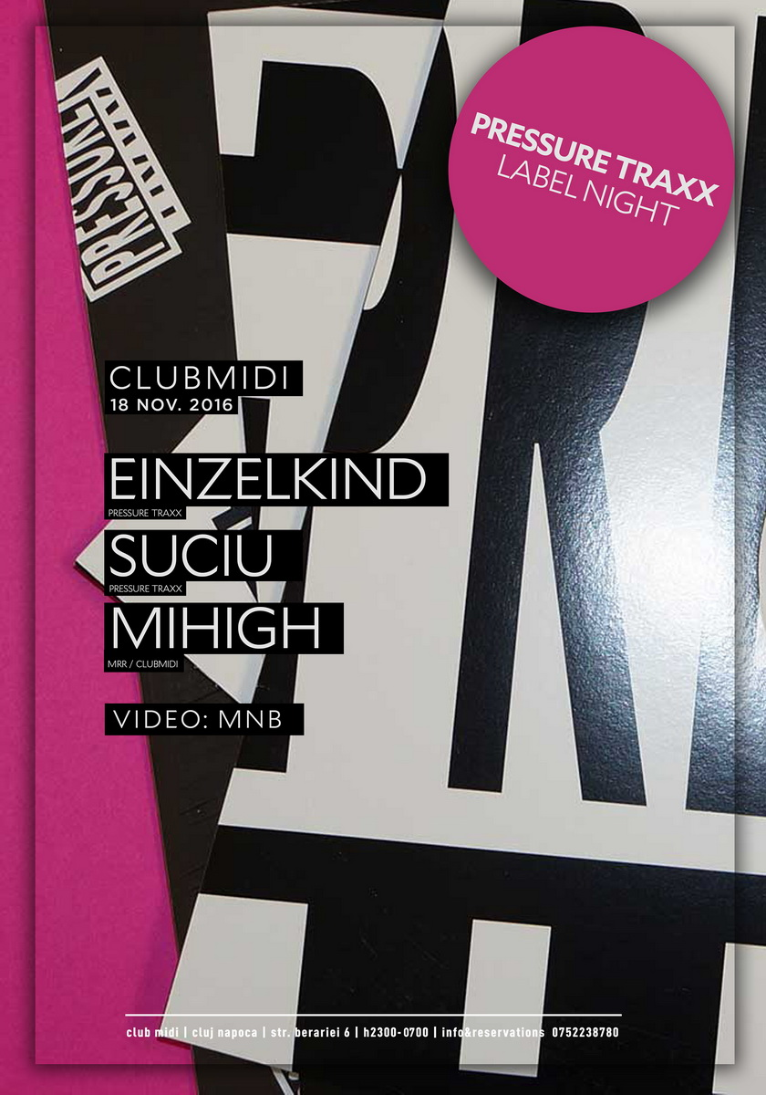 Einzelkind / Suciu / Mihigh @ Club Midi