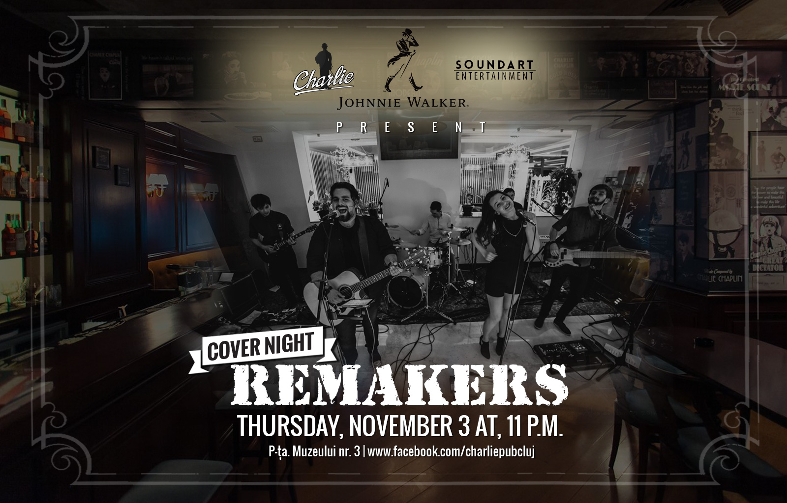 Cover Night: Remakers @ Charlie