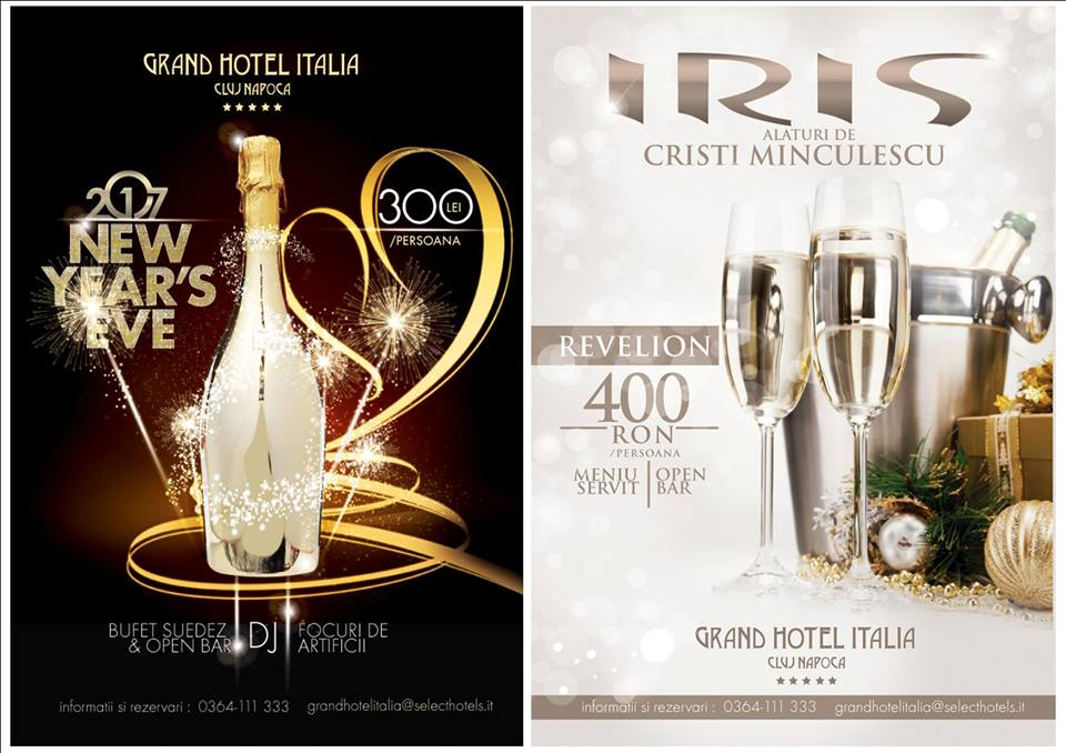 Revelion 2017 @ Grand Hotel Italia