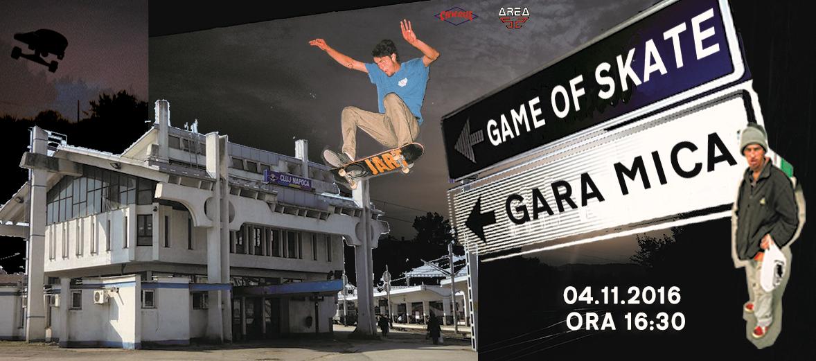 Game of Skate @ Gara Mică