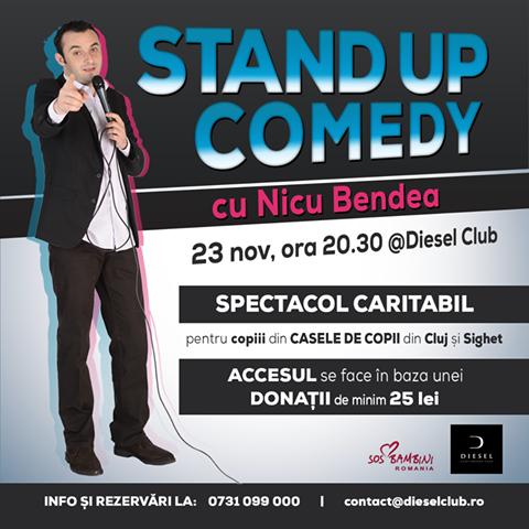 Stand-Up Comedy cu Nicu Bendea @ Diesel Club