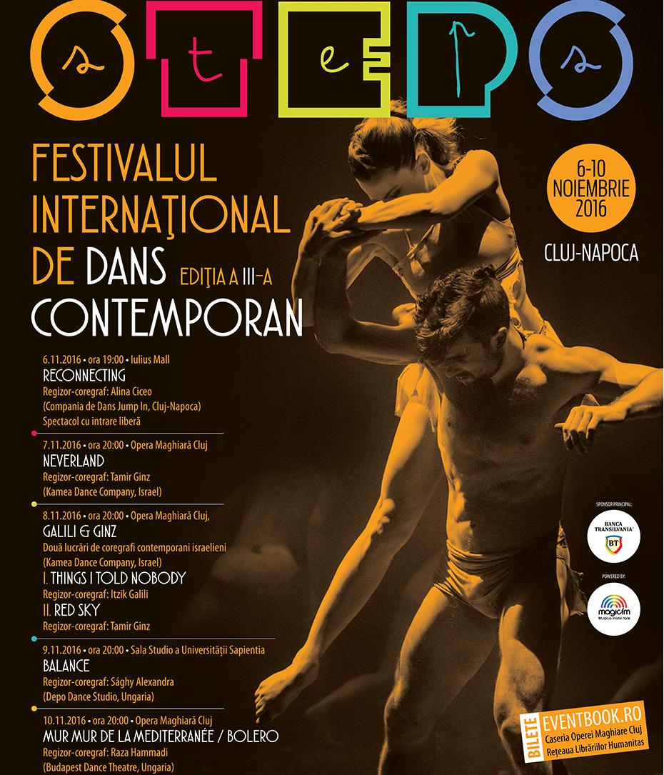 Festivalul International de Dans Contemporan Steps 2016