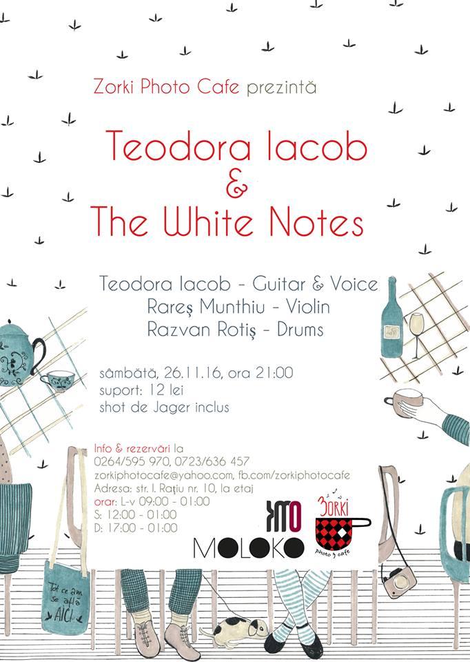 Teodora Iacob & The White Notes @ Zorki Photo Cafe