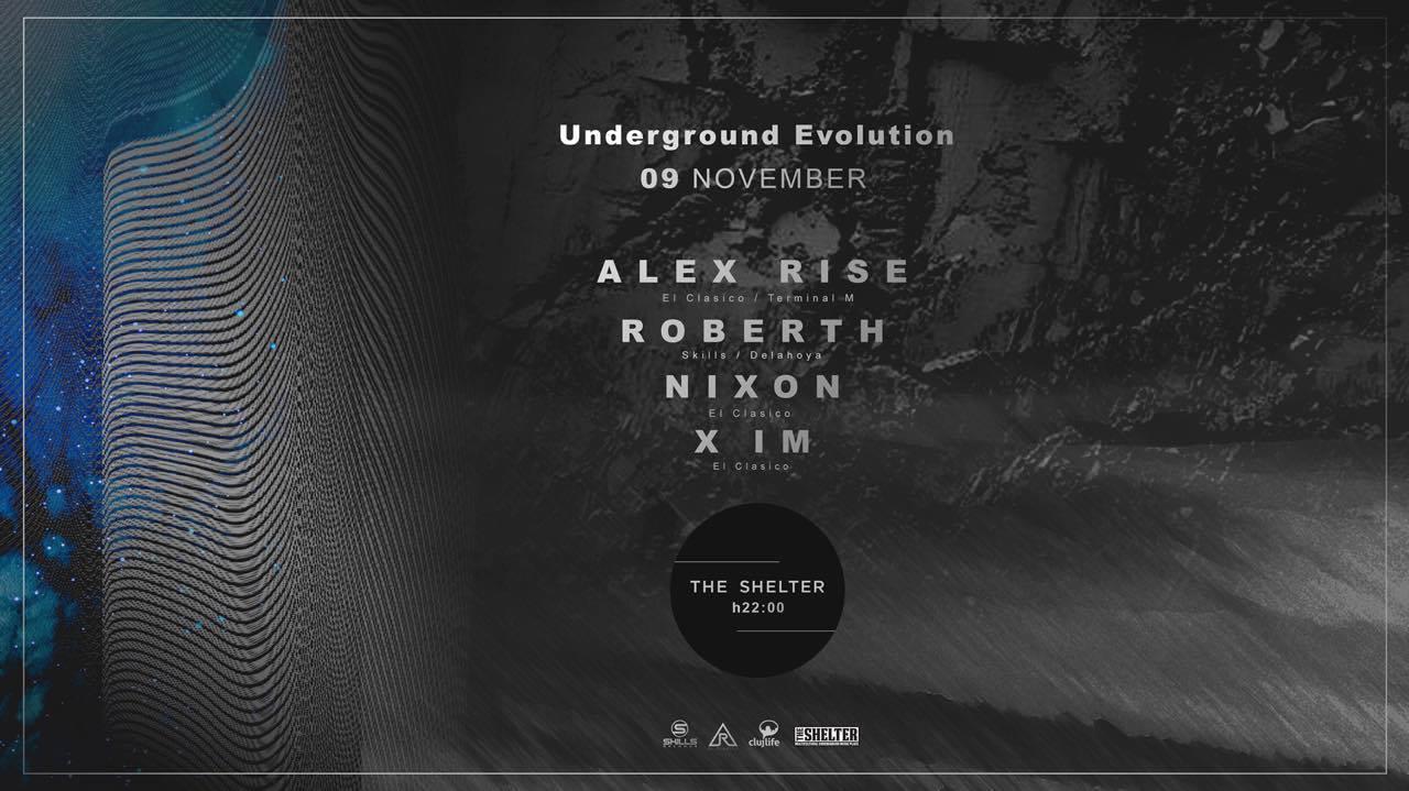 Underground Evolution @ The Shelter