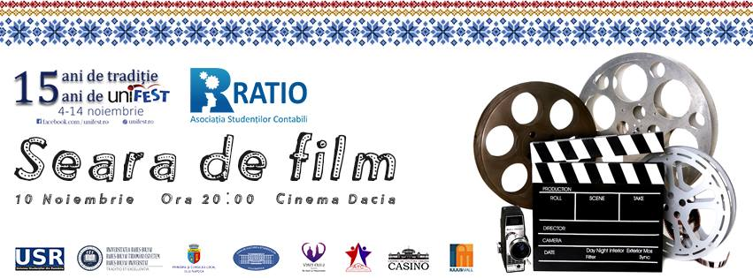UniFEST 2016 – Seara de film @ Cinema Dacia