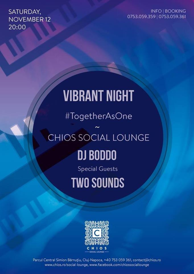 Vibrant Night @ Chios Social Lounge