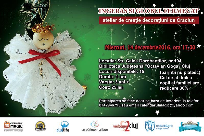 """Atelier de creație pentru copii @ Biblioteca Judeţeană """"Octavian Goga"""""""