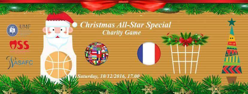 Christmas Charity Basketball Game @ Sala de sport UMF
