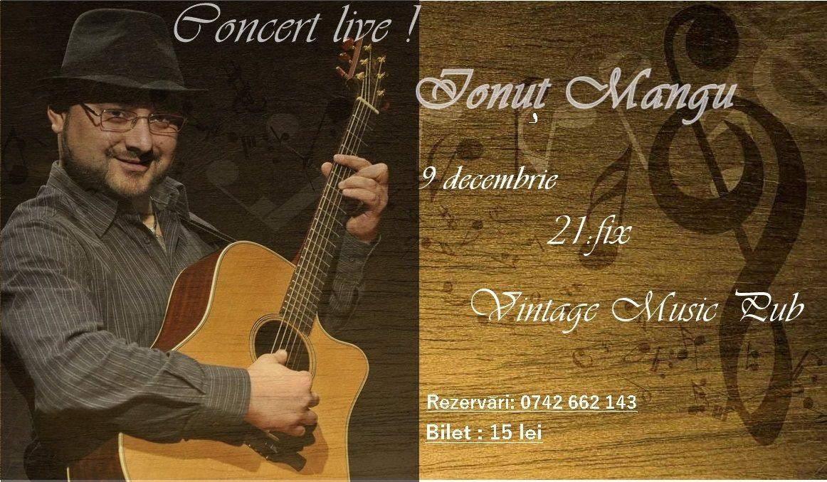 Ionuț Mangu @ Vintage Music Pub