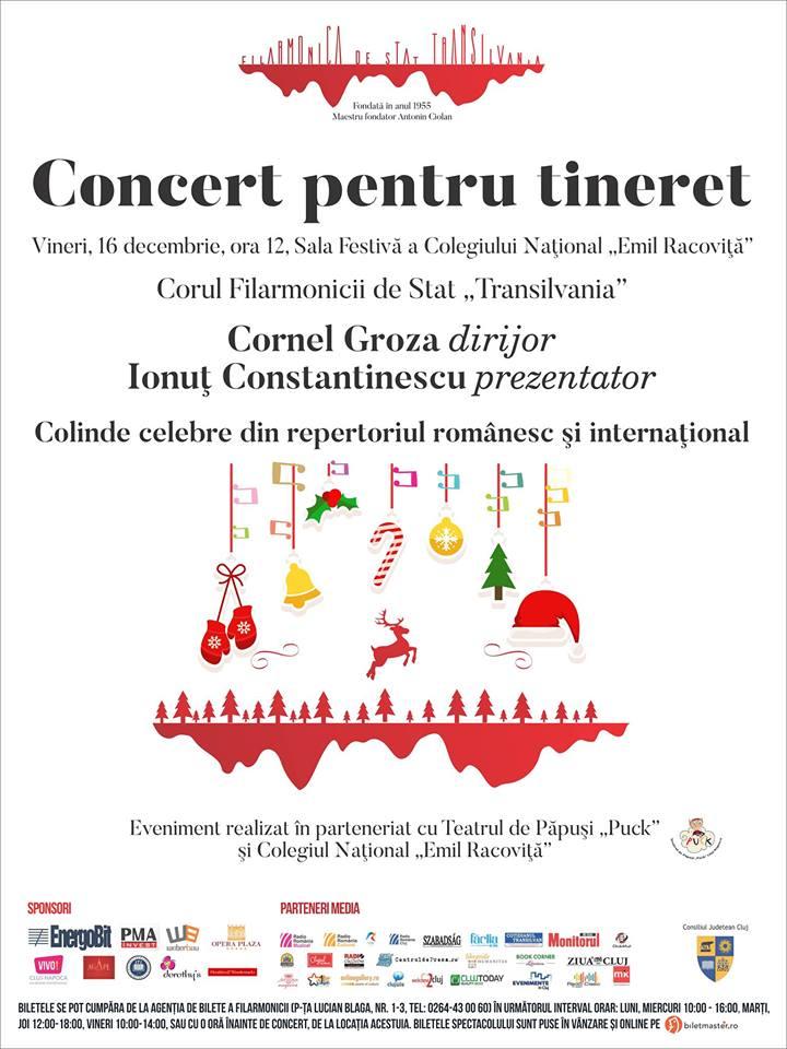 """Concert pentru tineret @ Colegiul Național """"Emil Racoviță"""""""
