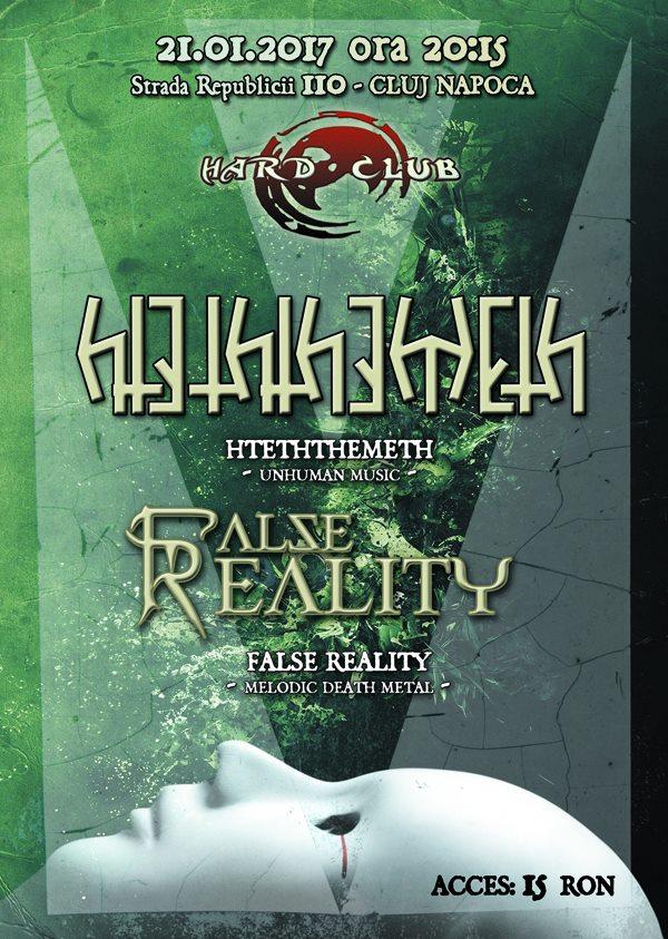 Hteththemeth & False Reality @ Hard Club